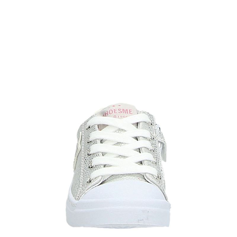 Shoesme - Lage sneakers - Zilver