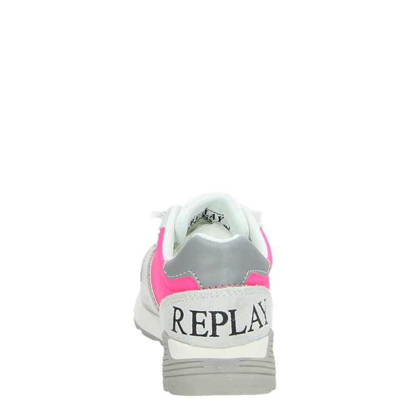 Replay - Lage sneakers - Roze