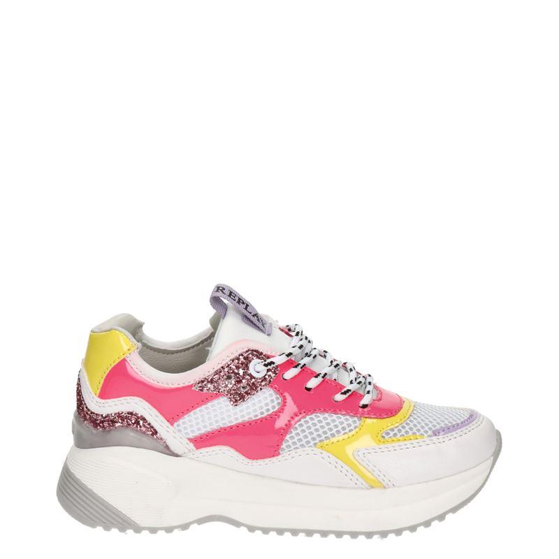 Replay Dubai - Lage sneakers - Wit