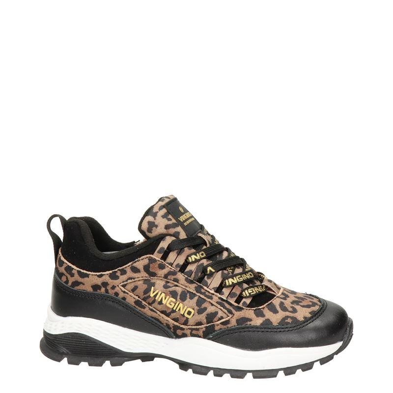Vingino Fenna - Lage sneakers - Zwart
