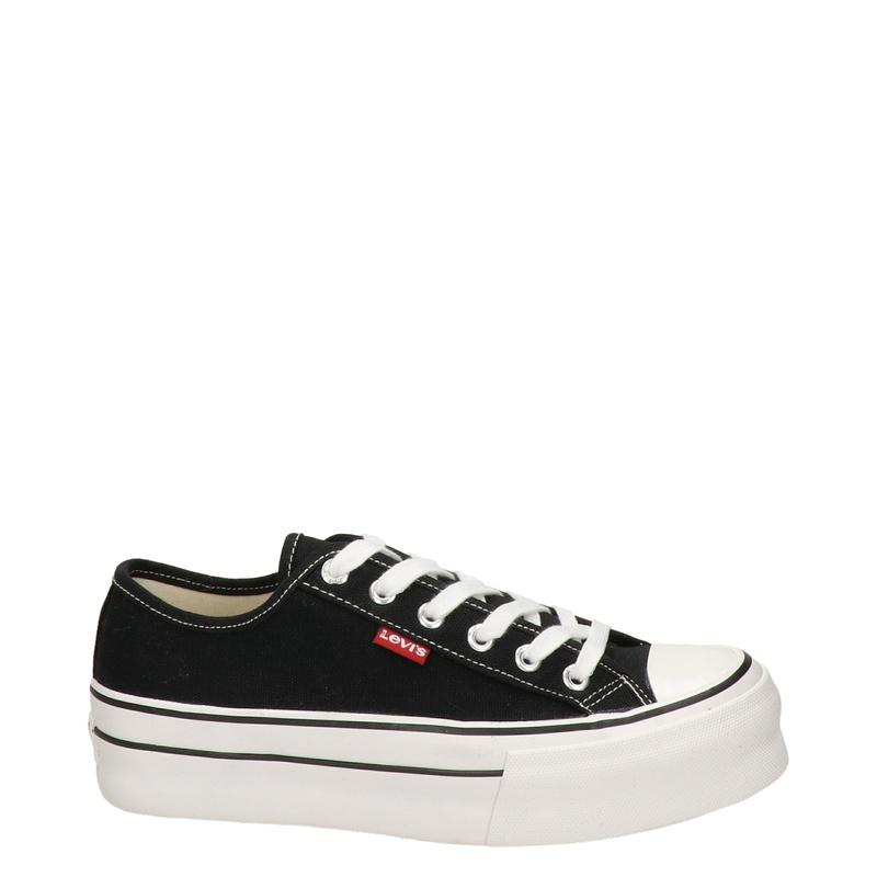 Levi's - Platform sneakers - Zwart