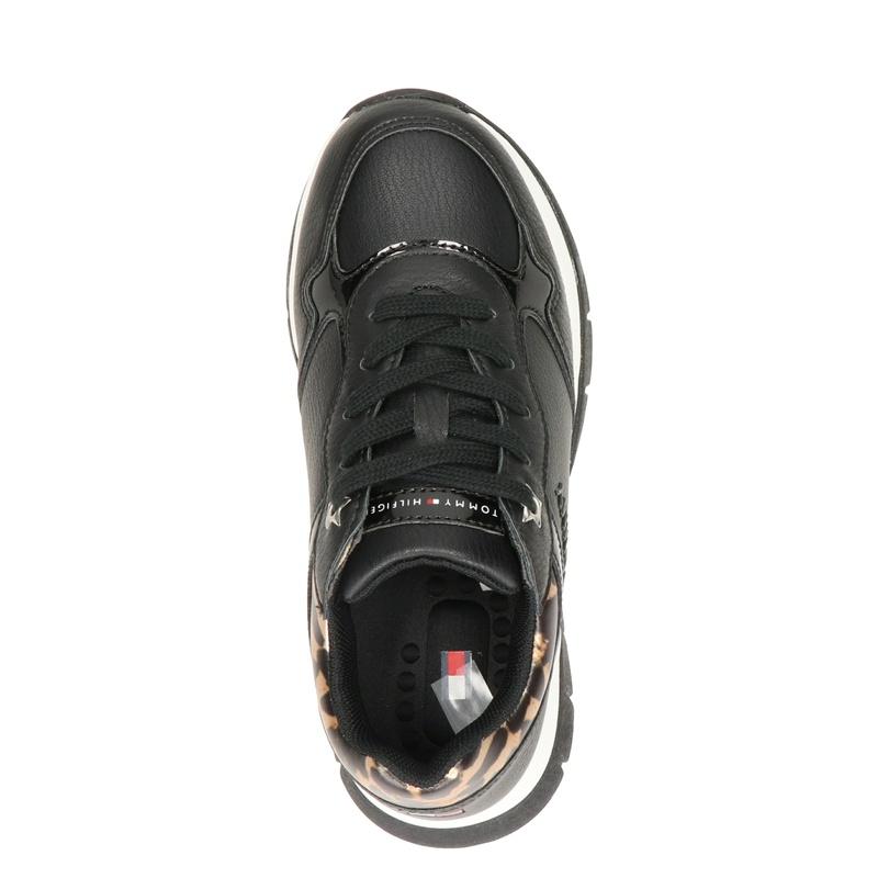 Tommy Hilfiger Khaled - Dad Sneakers - Zwart
