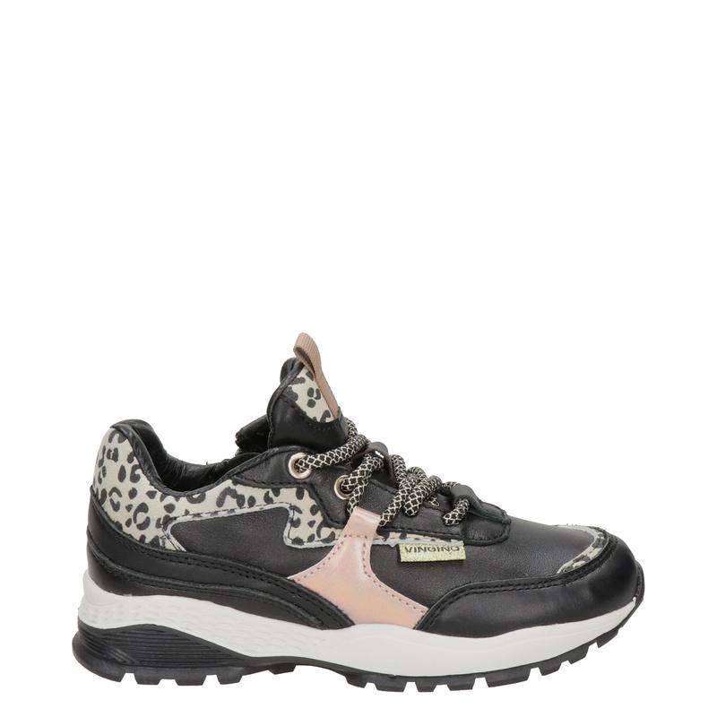 Vingino Mandy - Lage sneakers - Zwart
