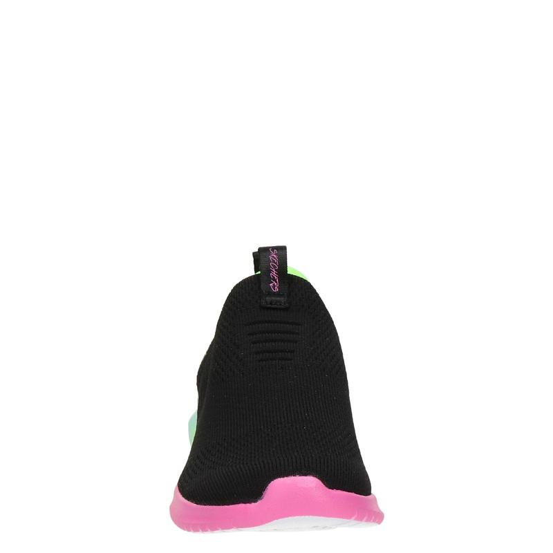 Skechers Ultra Flex - Instapschoenen - Zwart
