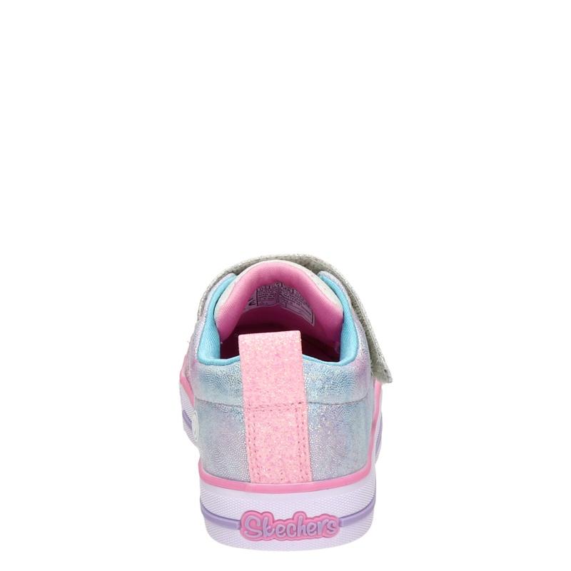 Skechers twinkle lite - Lage sneakers - Roze