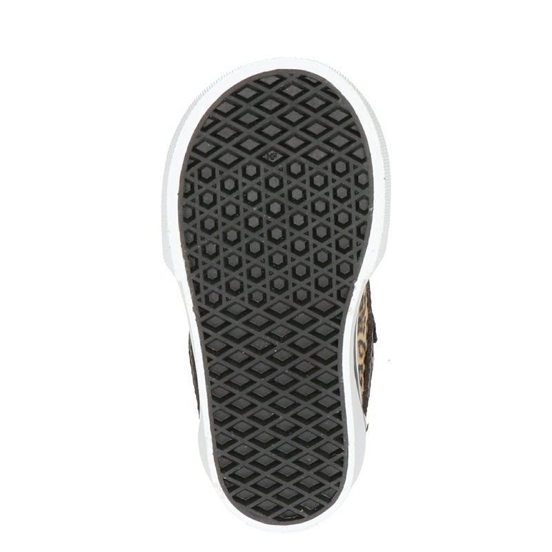 Vans Ward Cheetah - Klittenbandschoenen - Zwart