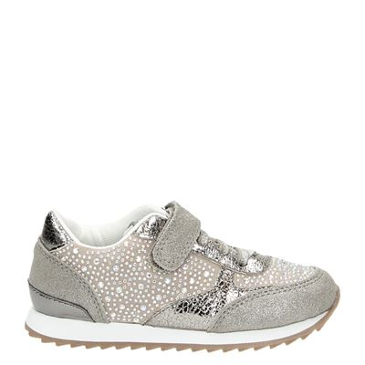 Little David meisjes sneakers taupe