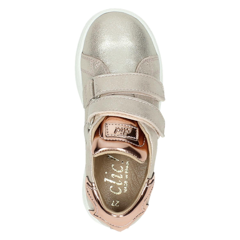 Clic! meisjes klittenbandschoenen rose goud