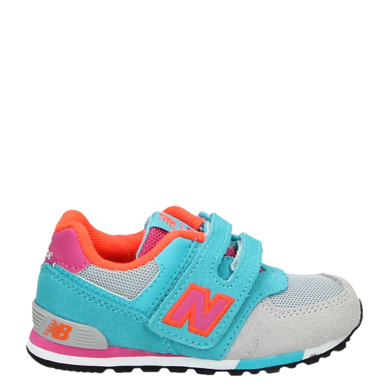 New Balance meisjes lage sneakers multi