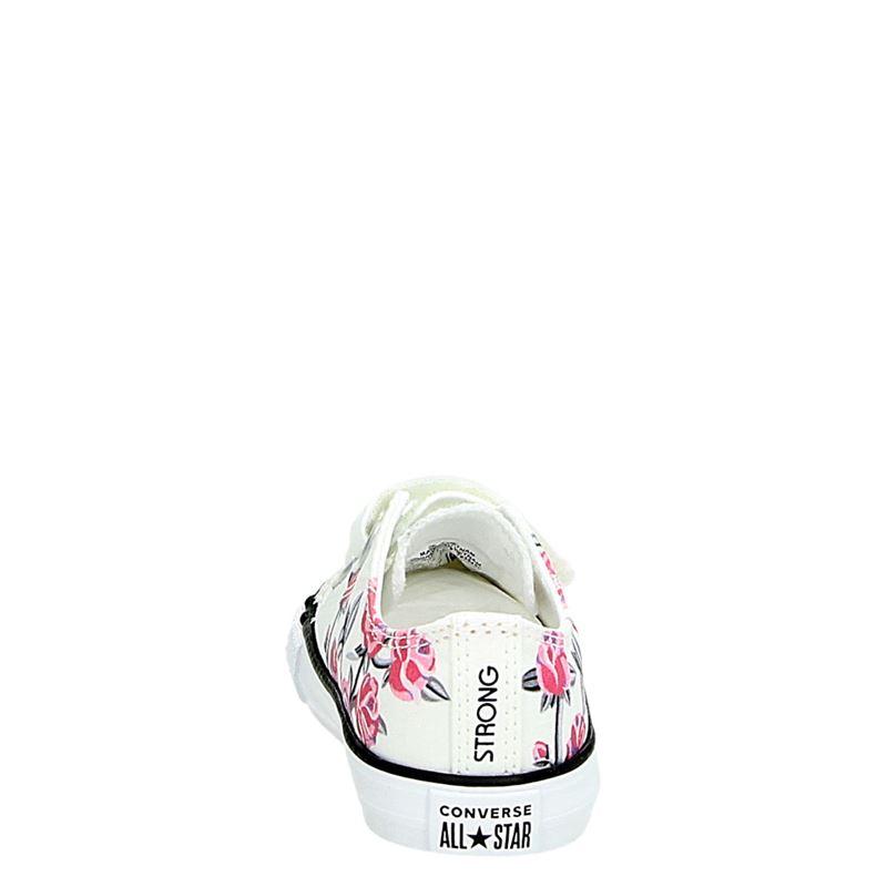 Converse All Star - Klittenbandschoenen - Wit