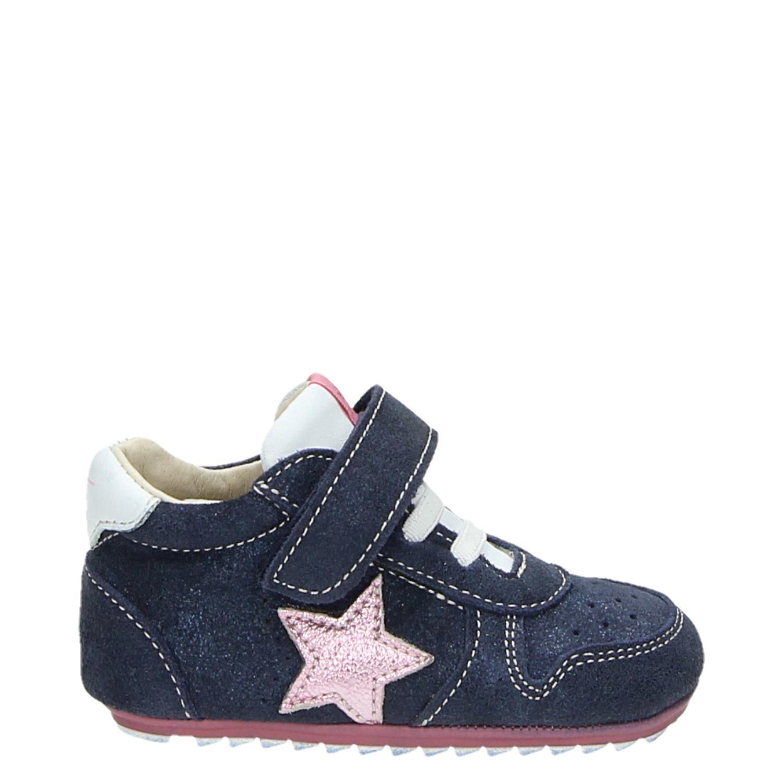 838f03810ca Shoesme meisjes babyschoenen blauw