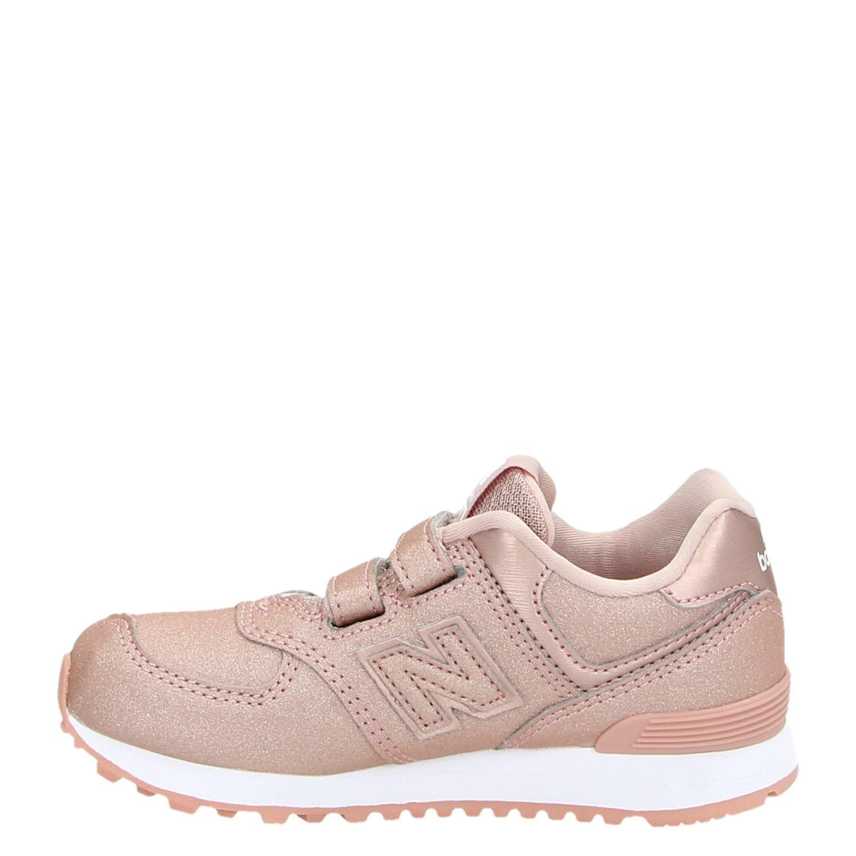 a0b3972df2d New Balance IV574 YV574 girls meisjes lage sneakers roze