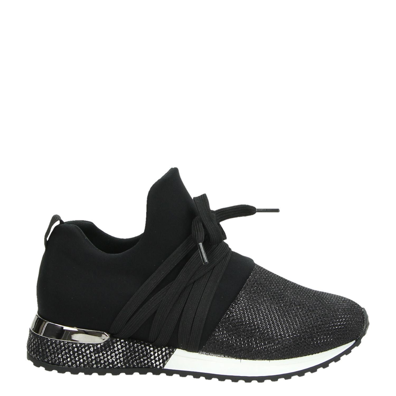fdcf3848d7a La Strada meisjes lage sneakers zwart