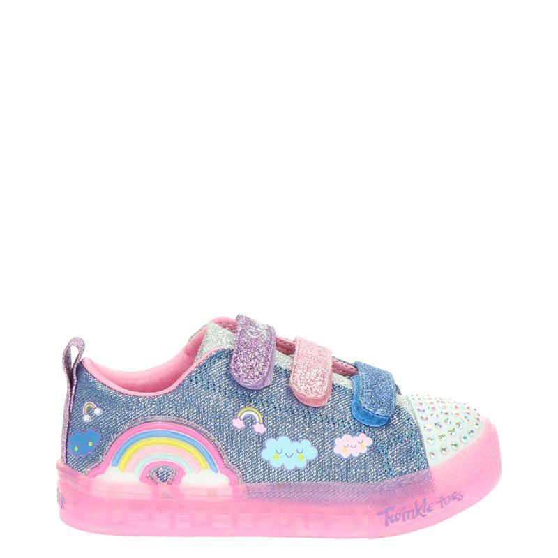 Skechers Twinkle Toes - Klittenbandschoenen - Blauw