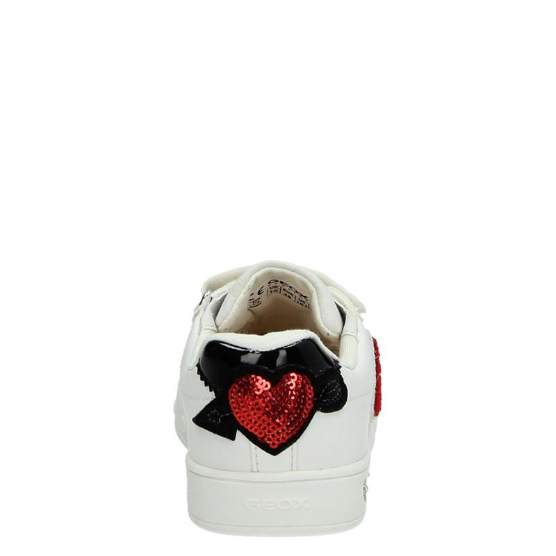 Geox J Skylin Girl - Klittenbandschoenen - Wit