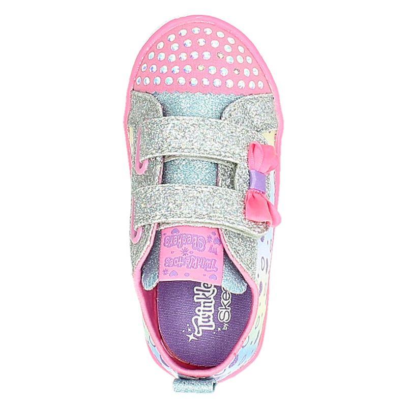 Skechers Twinkle Toes - Klittenbandschoenen - Roze