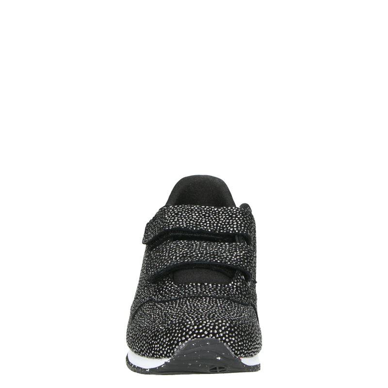 Woden Wonder Sandra Pearl - Klittenbandschoenen - Zwart
