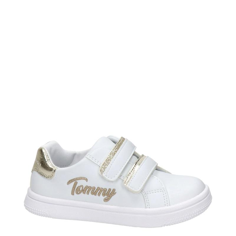 Tommy Hilfiger - Klittenbandschoenen - Wit
