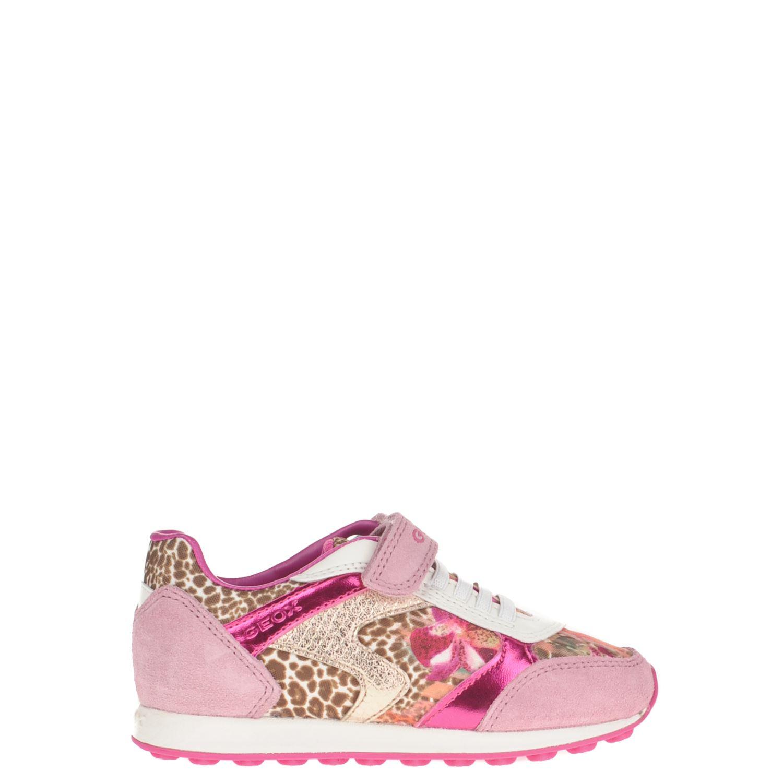 1cadd81b1d5 Geox meisjes lage sneakers roze