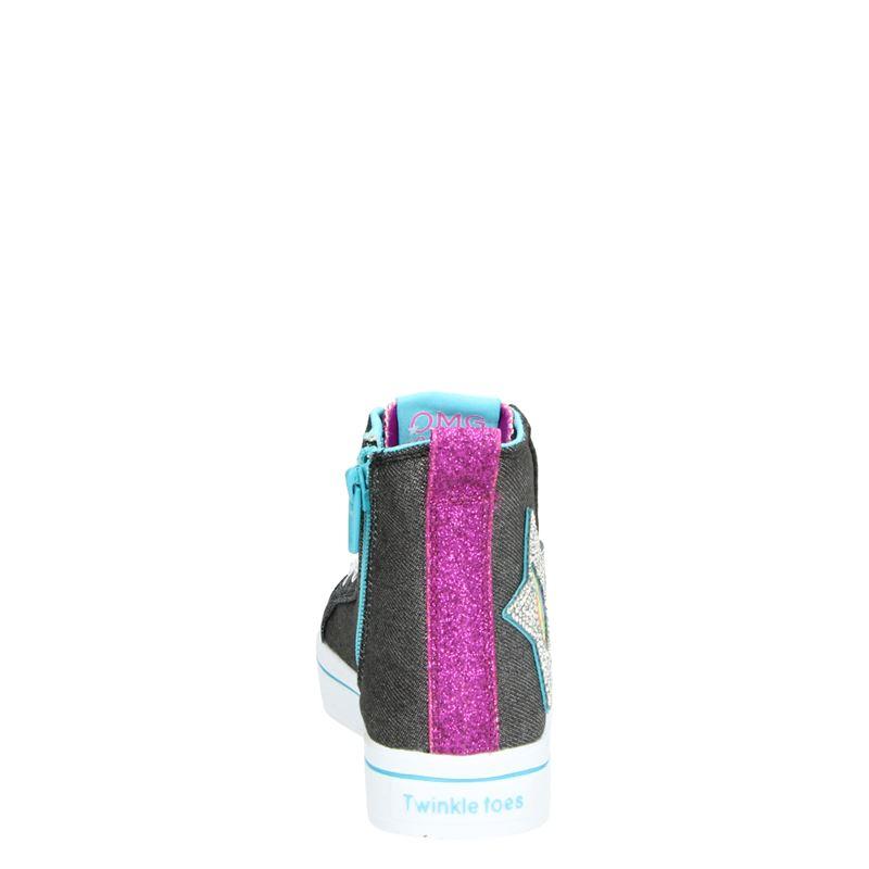 Skechers Twinkle Toes - Hoge sneakers - Zwart