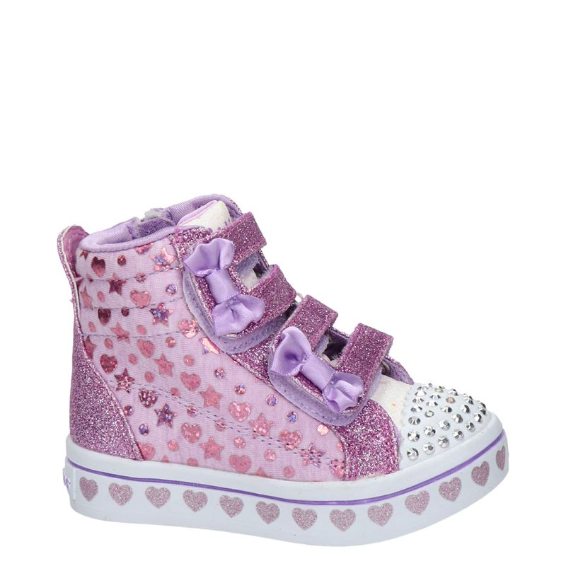 Skechers - Klittenbandschoenen - Paars