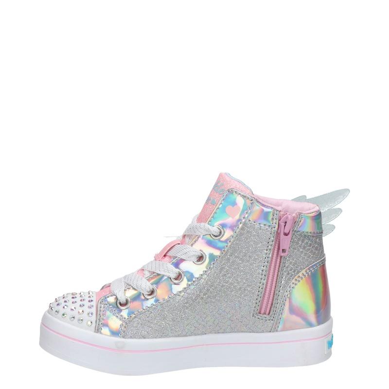 Skechers Twinkle Toes - Hoge sneakers - Zilver