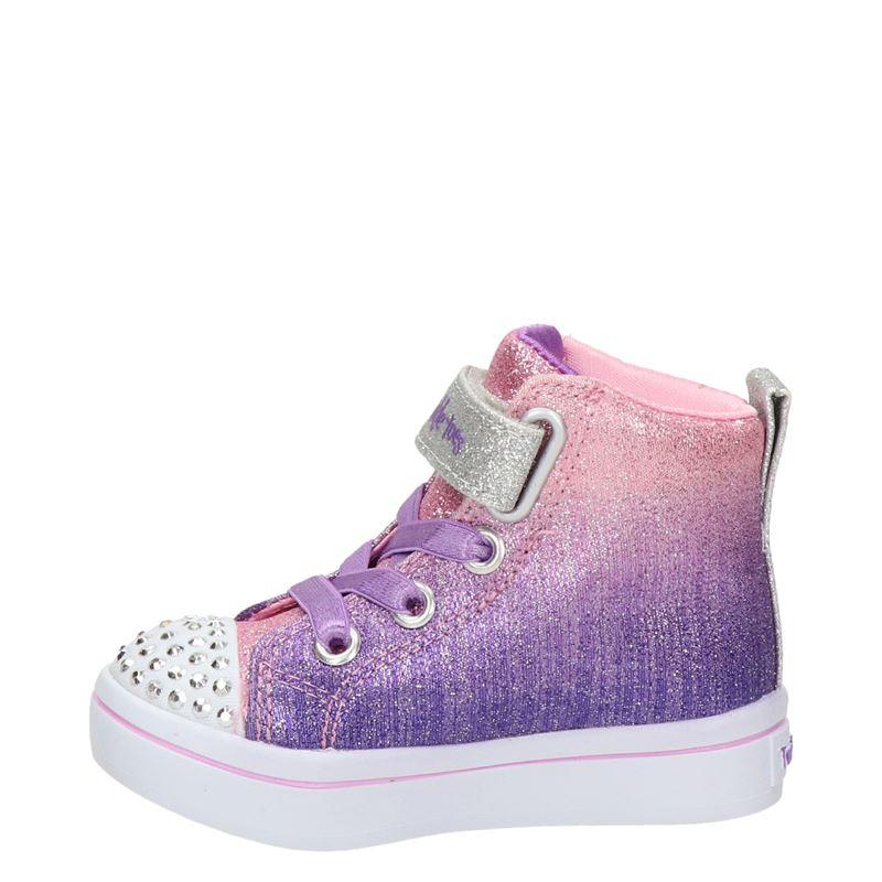 Skechers Twinkle Toes - Hoge sneakers - Paars