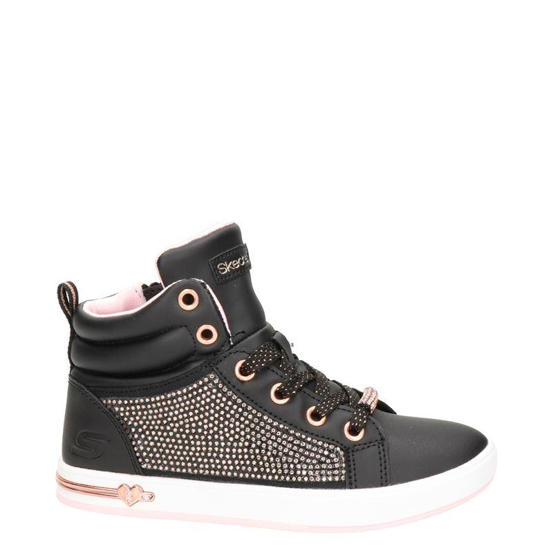 Skechers Street Los Angeles - Hoge sneakers - Zwart