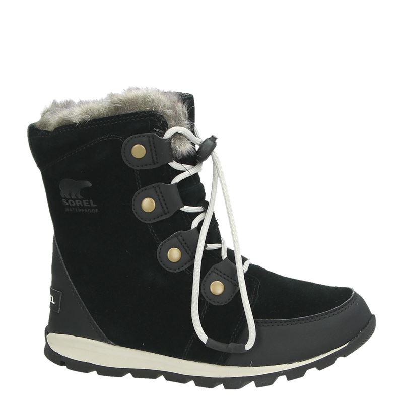 Sorel Youth Whitney - Snowboots - Zwart
