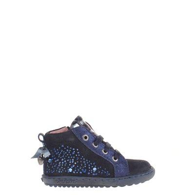Shoesme Veterboots Blauw