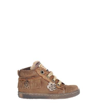 Shoesme meisjes sneakers bruin