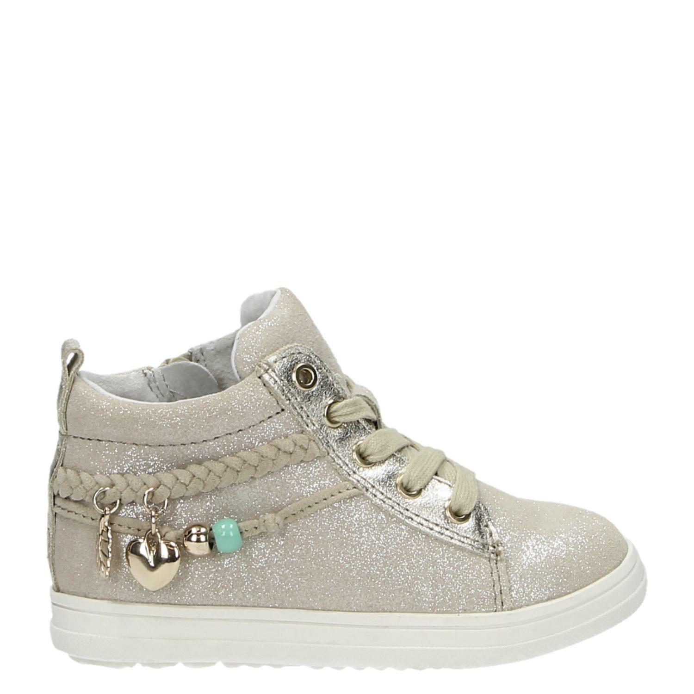 59eaeff848c Hush Puppies meisjes hoge sneakers goud