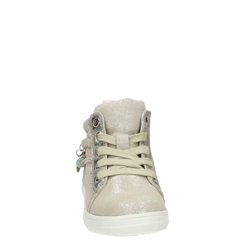 802741051be Hush Puppies meisjes hoge sneakers goud