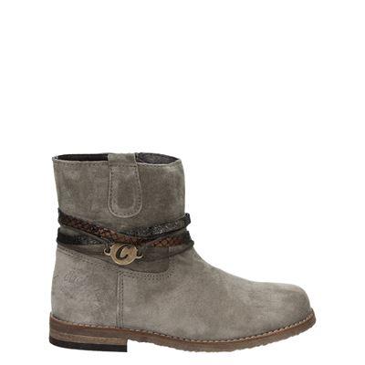 Clic! meisjes laarsjes & boots taupe