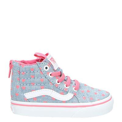 Vans meisjes sneakers blauw