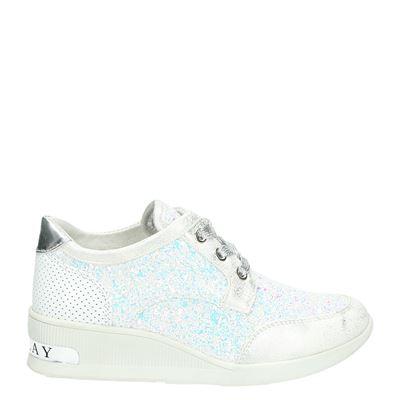 Replay meisjes sneakers wit