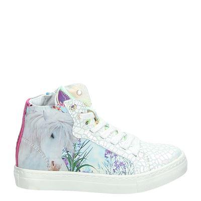 Wild meisjes sneakers wit