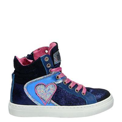 Mim-Pi meisjes sneakers blauw