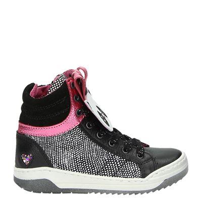 Mim-Pi meisjes sneakers zwart