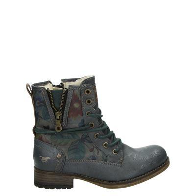 Mustang meisjes laarsjes & boots blauw