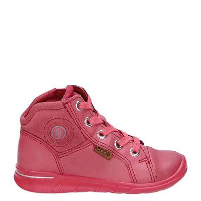 Ecco meisjes rits- & gesloten boots roze