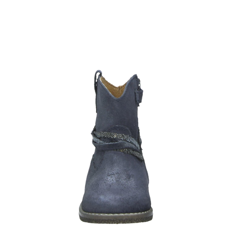 473f9c3ca5a Little David IONA 1 - Enkellaarsjes - Blauw - Shoemixx.nl