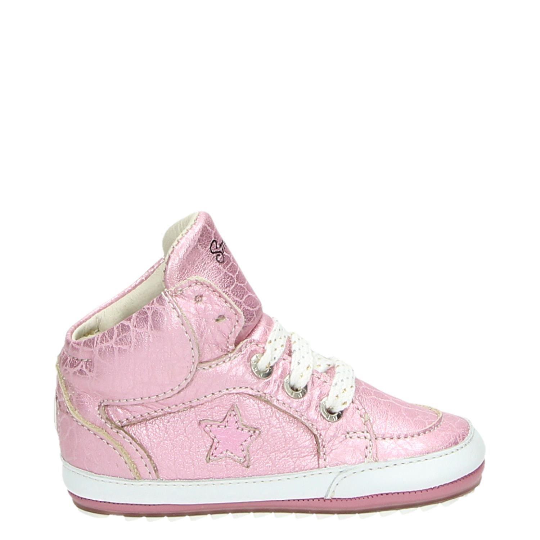 vans babyschoenen roze