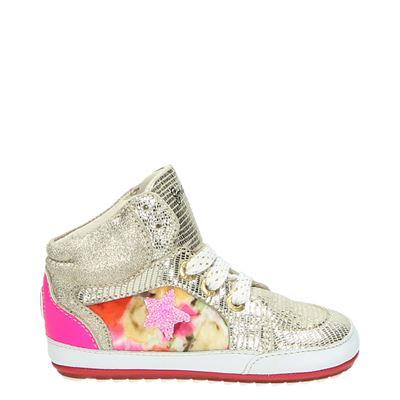 Shoesme meisjes babyschoenen goud
