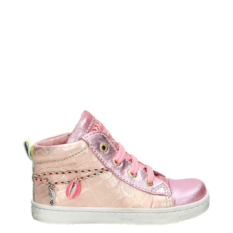 4c8fc50882e Shoesme meisjes lage sneakers roze