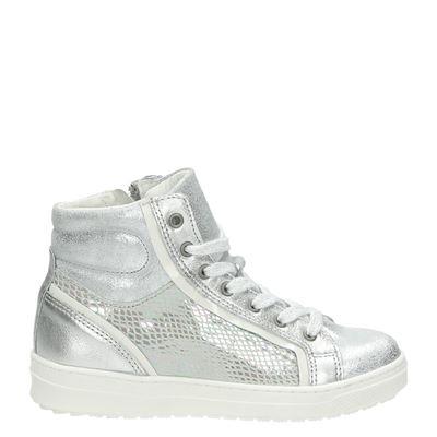 Piure meisjes sneakers zilver