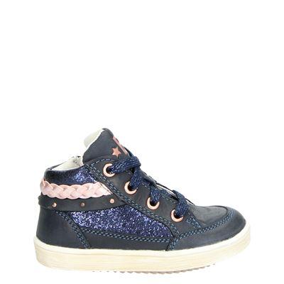 Orange Babies meisjes sneakers blauw