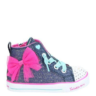 Skechers meisjes sneakers blauw