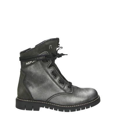 Replay meisjes laarsjes & boots zilver