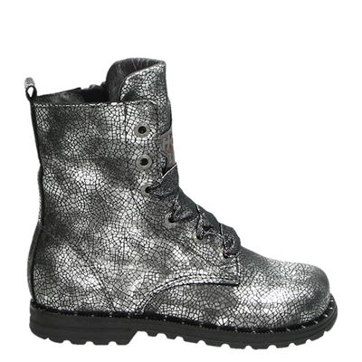 Shoesme meisjes laarsjes & boots zilver